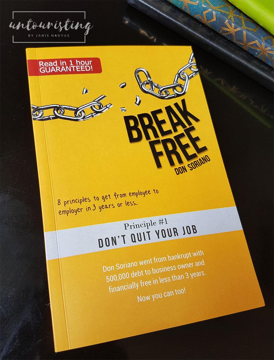 Break Free book cover