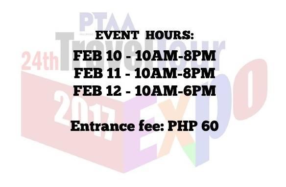 PTAA 24th Travel Tour Expo 2017