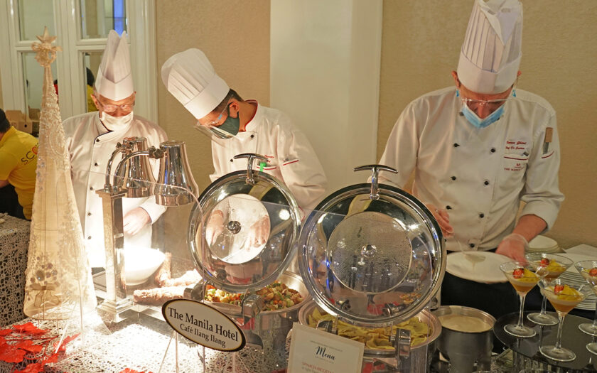 Chefs at the Manila Hotel